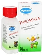 Hylands - Insomnia - 100 Tablets, from category: Homeopathy