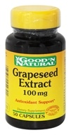 Good 'N Natural - Grape Seed Extract 100 mg. - 50 Capsules - $6.17