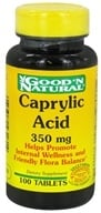 Good 'N Natural - Caprylic Acid 350 mg. - 100 Tablets