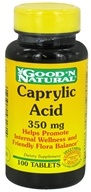 Good 'N Natural - Caprylic Acid 350 mg. - 100 Tablets - $6.64