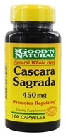 Good 'N Natural - Cascara Sagrada 450 mg. - 100 Capsules - $3.95