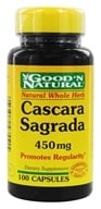 Good 'N Natural - Cascara Sagrada 450 mg. - 100 Capsules by Good 'N Natural