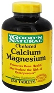 Good 'N Natural - Chelated Calcium-Magnesium - 250 Tablets, from category: Vitamins & Minerals