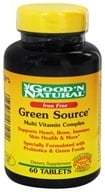 Good 'N Natural - Green Source Iron Free - 60 Tablets, from category: Nutritional Supplements