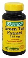 Good 'N Natural - Green Tea Extract 315 mg. - 100 Capsules (074312431319)