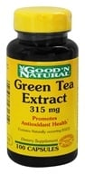 Good 'N Natural - Green Tea Extract 315 mg. - 100 Capsules - $4.92