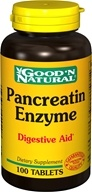 Image of Good 'N Natural - Pancreatin Enzyme - 100 Tablets