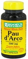 Good 'N Natural - Pau d'Arco 50 mg. - 100 Capsules, from category: Herbs