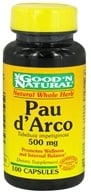 Good 'N Natural - Pau d'Arco 50 mg. - 100 Capsules by Good 'N Natural