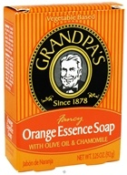 Grandpa's Soap Co. - Fancy Orange Essence Soap with Olive Oil & Chamomile - 3.25 oz.