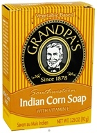 Grandpa's Soap Co. - Southwestern Indian Corn Soap with Vitamin E - 3.25 oz., from category: Personal Care