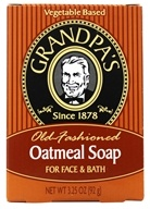 Grandpa's Soap Co. - Old Fashioned Oatmeal Soap For Face & Bath - 3.25 oz. (010486007073)