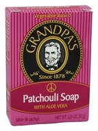 Grandpa's Soap Co. - Patchouli Soap with Aloe Vera - 3.25 oz.
