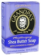 Grandpa's Soap Co. - Moisturizing Shea Butter Soap with Lavender & Vanilla - 3.25 oz. (010486007257)