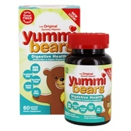 Image of Hero Nutritional Products - Yummi Bears Fiber Supplement - 60 Gummies