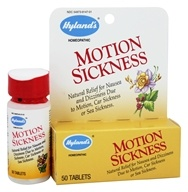 Hylands - Motion Sickness - 50 Tablets by Hylands