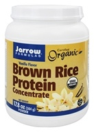 Jarrow Formulas - Brown Rice Protein Powder Vanilla - 1.1 lbs., from category: Health Foods