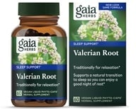 Gaia Herbs - Valerian Root Liquid Phyto Capsules - 60 Vegetarian Capsules, from category: Herbs