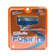 Gillette - Fusion Manual Razor Replacement Blades - 4 Pack(s) by Gillette