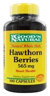 Good 'N Natural - Hawthorn Berries 565 mg. - 100 Capsules, from category: Herbs