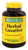 Good 'N Natural - Herbal Laxative - 250 Tablets - $7.24