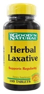Image of Good 'N Natural - Herbal Laxative - 100 Tablets