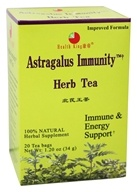 Health King - Astragalus Immunity Herb Tea - 20 Tea Bags by Health King