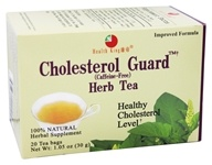 Image of Health King - Cholesterol Guard Herb Tea - 20 Tea Bags