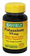 Good 'N Natural - Chelated Potassium 99 mg. - 100 Vegetarian Caplet(s)