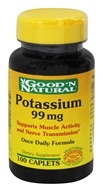 Good 'N Natural - Chelated Potassium 99 mg. - 100 Vegetarian Caplet(s) (074312411106)