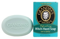 Grandpa's Soap Co. - Refreshing Witch Hazel Soap Soft & Gentle - 3.25 oz. (010486007035)