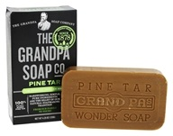 Image of Grandpa's Soap Co. - Wonder Pine Tar Soap - 4.25 oz.