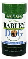 Green Foods - Barley Dog - 3 oz., from category: Pet Care