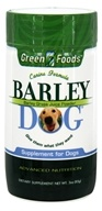 Green Foods - Barley Dog - 3 oz.