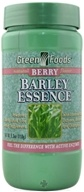Green Foods - Barley Essence Berry Flavor - 5.3 oz.