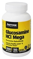 Jarrow Formulas - Glucosamine HCl Mega 1000 mg. - 100 Tablets by Jarrow Formulas