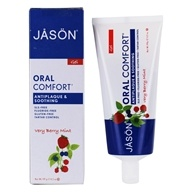 Image of Jason Natural Products - Tooth Gel Oral Comfort All Natural Soothing CoQ10 Fluoride-Free Very Berry Mint - 4.2 oz.