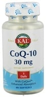 Kal - Co-Q-10 30 mg. - 60 Softgels - $18.57
