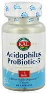 Kal - Acidophilus Probiotic- 5 - 60 Capsules, from category: Nutritional Supplements