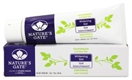 Image of Nature's Gate - Natural Toothpaste Whitening Gel Fluoride Free - 5 oz.