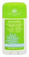 Nature's Gate - Deodorant Stick Winter Clean Unscented - 2.5 oz.