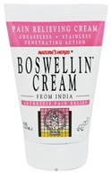 Nature's Herbs - Boswellin Cream - 4 oz.