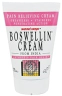 Image of Nature's Herbs - Boswellin Cream - 4 oz.