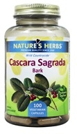 Image of Nature's Herbs - Cascara Sagrada 900 mg. - 100 Capsules