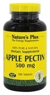 Nature's Plus - Apple Pectin 500 mg. - 180 Tablets (097467045002)