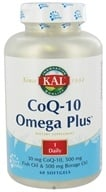 Kal - CoQ-10 Omega Plus - 60 Softgels CLEARANCED PRICED by Kal