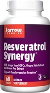 Jarrow Formulas - Resveratrol Synergy - 60 Tablets - $12.67