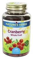 Image of Nature's Herbs - Cranberry Fruit - 100 Capsules