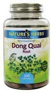 Nature's Herbs - Dong Quai (Chinese) - 100 Capsules, from category: Herbs