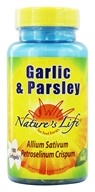Nature's Life - Garlic & Parsley - 100 Softgels by Nature's Life
